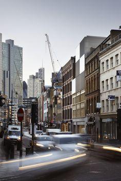 Duggan Morris Architects: Curtain Road, Shoreditch, London.