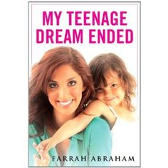 Teen Mom Farrah Abraham's book cover. #TeenMom