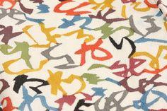 芹沢銈介:代表作いろは模様。 Textile Patterns, Print Patterns, Textiles, Japanese Style, Surface Design, Typography, Kids Rugs, Traditional, Respect