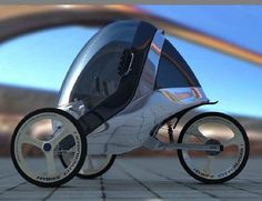 4 D Experience by Ludwig Desmet. Tricycle Bike, Trike Bicycle, Bicycle Art, Bicycle Design, Bicycle Shop, Diy Electric Car, Electric Bike Kits, Electric Scooter, Drones