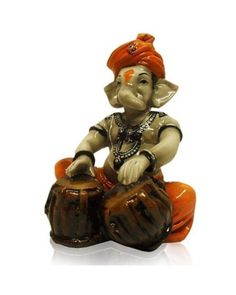 Fiber Handicrafts : Fiber Ganesha Playing Tabla #HomeDecor #Ganesha