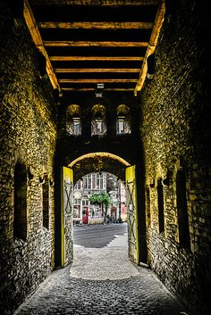 Gate in the Gravensteen Castle - Ghent Belgium | Flickr - Photo Sharing!