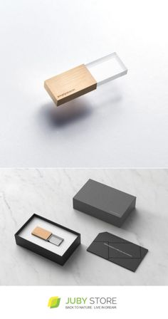 Beyond Object Empty Memory 16gb - Transparency - Rose Gold - Juby Store - minimalist, minimal design, natural material, modern design