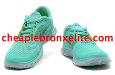 Mint Green Nike Free Run 3 Womens 510643 301