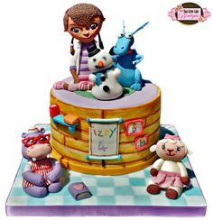 Disney Doc McStuffins and Friends Cake
