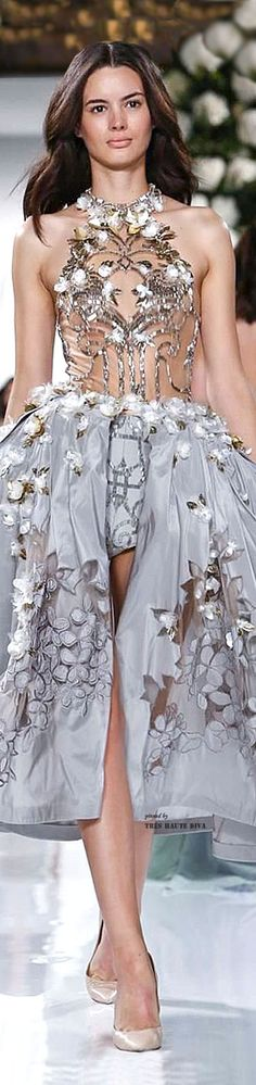 #Paris FW Valentin Yudashkin Spring Summer 2015 RTW my if I was the queen of the universe outfit