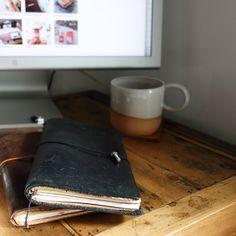 Baum-kuchen - MIDORI Traveler's Notebook Black