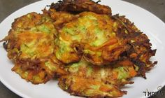 Who was it that said latkes were only made by potatoes? Well....I give you Latkes NOT made by potatoes, but instead made with the help of carrots and zucchini - Probably one of the tastiest latke recipes you'll ever have! The zucchini provides the softness, whilst the carrots provide a nice, crispy and sweet flavor to this wonderful dish. This is a dish that everyone will love!