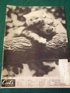 May 1968 Cats Magazine by doyourememberwhen on Etsy, $9.99