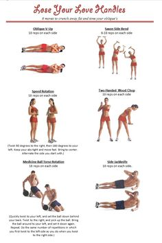 External Oblique Workout Love Handles
