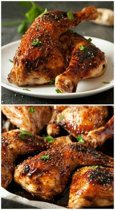 Change things up with these Asian inspired drumsticks! Way more meaty than wings and so much more delicious and even a little healthier. #chicken