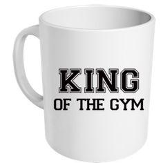 """Mug """"King Of The Gym"""" - MUG ME"""