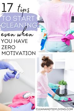 Let's be real. For the majority of us, cleaning and organizing isn't the easiest part of housekeeping. Even if we enjoy the actual activity of cleaning, there's always a mental block that stops us from getting started. In this post, we explain how to get motivated to clean and declutter. These tips will get you over that initial hurdle, and help you to enjoy your cleaning routine. Declutter Home, Organizing Your Home, Home Organisation Tips, Teaching 5th Grade, How To Get Motivated, Messy House, Working Moms, Homemaking, Housekeeping