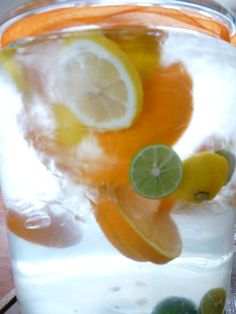 Citrus infused Water