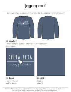 #deltazeta #sweatshirt