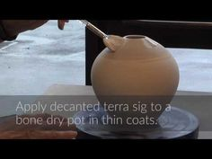Super Quick Terra Sigillata Plus Feather and Horsehair Raku Firing | MARCIA SELSOR - YouTube