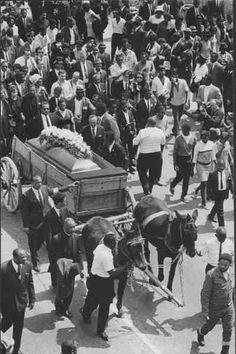 Rev. Dr. Martin Luther King Jr. Homegoing, 1968