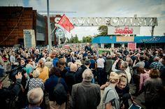 Historical Gate Number II - Gdansk Shipyard - part of European Solidarity Center.