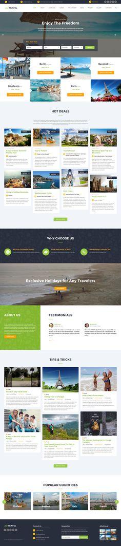 Travel Agency Responsive Website Template http://www.templatemonster.com/website-templates/travel-agency-responsive-website-template-60026.html