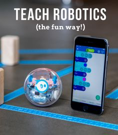 Sphero Sprk+ New Technology Invention You Need To See. Stem Learning, Cooperative Learning, Library Activities, Stem Activities, Stem Projects, Science Projects, Dot Robot, Stem Classes, Dash And Dot
