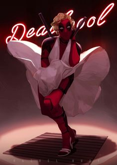 Deadpool 2 by RachelHuey Deadpool Images, Deadpool Quotes, Deadpool Art, Deadpool Funny, Spideypool, Comic Book Characters, Marvel Characters, Marvel Heroes, Marvel Dc