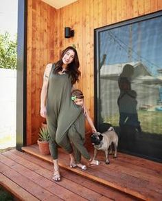 Momper Romper is the most comfortable one piece jumpsuit designed for the modern mom, maternity, matching mommy and me outfits, and anyone who just loves comfort. Mom And Daughter Matching, Mommy And Son, Perfect Gift For Mom, Gifts For Mom, Pregnacy Fashion, Gold Outfit, Designer Jumpsuits, Pregnancy Wardrobe, Mommy And Me Outfits