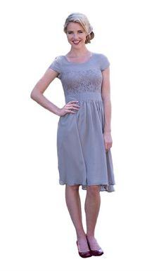 Isabel Modest Dress - Light Gray ,  http://www.amazon.com/gp/product/B00OY8O3H0/ref=as_li_tl?ie=UTF8&camp=1789&creative=390957&creativeASIN=B00OY8O3H0&linkCode=as2&tag=modmod-20&linkId=KL4XNGPLNR4E6LEI