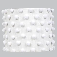 """Combine stylish detailing and soft lighting to create the perfect finishing touch for the walls of your kids room. Measures 13 X 13 X 11 inches. What a """"bright"""" idea! Adding unique l Chandelier Shades, Lamp Shades, Cool Lighting, Lighting Design, White Gold Bedroom, Nursery Lighting, Lampshade Designs, Large Chandeliers, Polka Dot Fabric"""
