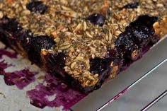 Vegan Recipe Blueberry Almond Chia Squares — Oh She Glows
