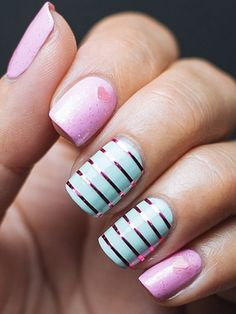 Valentine's Day Nail Art Ideas - Manicure Inspiration for Valentine's Day - Good Housekeeping