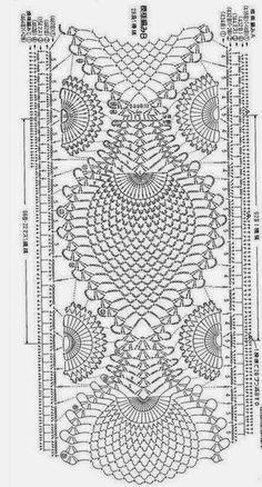 Blouse with crochet inserts Filet Crochet, Beau Crochet, Mode Crochet, Crochet Coat, Crochet Motifs, Crochet Diagram, Crochet Stitches Patterns, Irish Crochet, Crochet Doilies