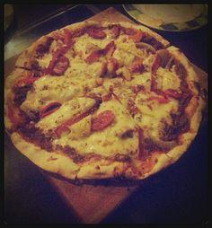 Pizza at Malibu Steak 'n' Pizza