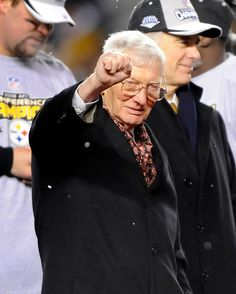 The son of Steelers founder Art Rooney transformed the franchise into a dynasty in the and became an influential voice in the NFL. Steelers Cheerleaders, Pitsburgh Steelers, Pittsburgh Steelers Players, Here We Go Steelers, Pittsburgh Sports, Pittsburgh Penguins, Steeler Football, Steelers Stuff, Dan Rooney