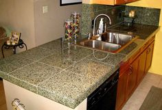 Cheap kitchen buy awesome lovely s cabinets and sale affordable countertops durable ideas pertaining . Granite Tile Countertops, Outdoor Kitchen Countertops, Bathroom Countertops, Kitchen Counters, Countertop Kit, Kitchen Island, Kitchen Paint, Kitchen Redo, Kitchen Tiles