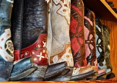 The Farrier's Daughter: How to wear Cowboy Boots with Dresses