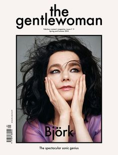 While most magazines today are all about removing obstructions such as thick-stroke frames so that text and images can dominate the cover, Gentlewoman Magazine embraces these elements. The restriction of the frame, the use of solid colour, and black type creates a very understated, elegant effect that definitely catches the eye.