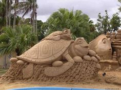Sand Castle Sculpting Competitions in Florida – Art on the Beach – Cars And Trucks For You