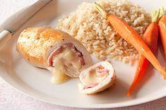 Recipes - Exclusive,Main Courses - Chicken Cordon Bleu Undone - Kraft First Taste Canada Chicken Ham, Chicken Recipes, Blue Chicken, Chicken Broccoli, Foil Pack Meals, Create A Recipe, Chicken Cordon Bleu, Kraft Recipes, What To Cook