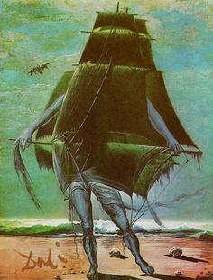 'le expédier', 1935 de Salvador Dali (1904-1989, Spain)