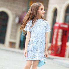 29.60$  Watch now - https://alitems.com/g/1e8d114494b01f4c715516525dc3e8/?i=5&ulp=https%3A%2F%2Fwww.aliexpress.com%2Fitem%2F2016-Summer-Cotton-Lace-Crochet-Dress-Elegant-Baby-Teen-Girls-Frock-Design-Dresses-for-age-5%2F32668734532.html - 2016 Summer Cotton Lace Crochet Dress Elegant Baby Teen Girls Frock Design Dresses for age 5 6 7 8 9 10 11 12 13 14T Years Old 29.60$