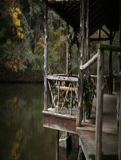 Front Porch Of Swamp House