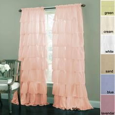 1000 ideas about shabby chic curtains on pinterest - Shabby chic bedroom curtains ...