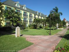 This is the French Village area of Beaches Turks & Caicos.