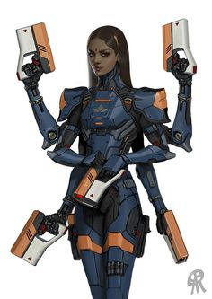 Kali body armor concept, Serge Birault on ArtStation at https://www.artstation.com/artwork/4dd5k