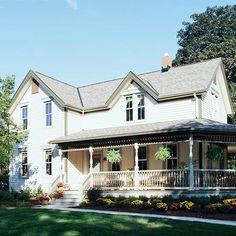 Victorian Farmhouse Porch Addition