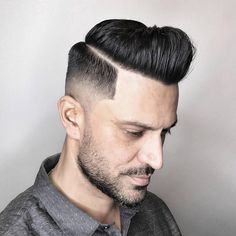 Mid fade haircuts are becoming even more popular in 2017. This type of fade cleans up the neckline while leaving some length above the temples. Mid length fades are also usually drop fades, which arc down behind the