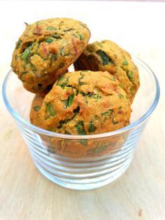 Baked falafel with chickpea flour - Baked falafel with chickpea flour - Side Recipes, Clean Recipes, Veggie Recipes, Baby Food Recipes, Sweets Recipes, Vegetarian Recepies, Healthy Recepies, Brunch, Spanish Dishes