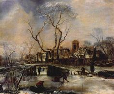 Jan van de Capelle - Winterlandschap (2)