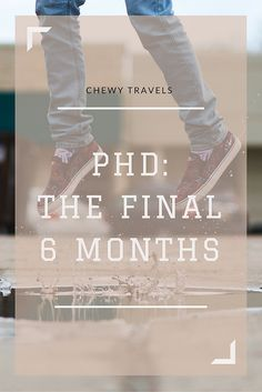 PhD: the final 6 months - I talk about my plans for the last half year of this PhD journey. I like #gradschool, but it's time to finish! #phdlyfe