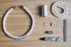 DIY statement rope necklace1